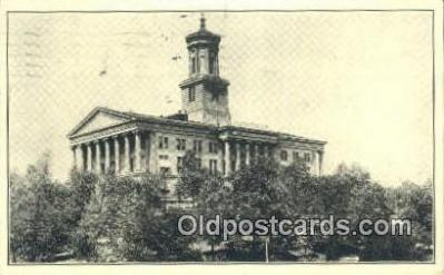 cap001760 - Nashville, Tennessee, TN State Capital, Capitals Postcard Post Card USA