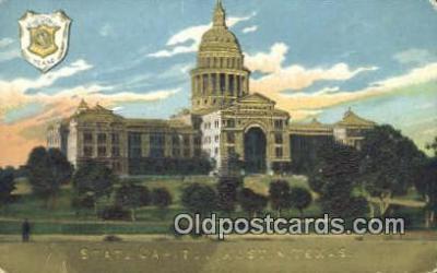 cap001762 - Austin, Texas, TX State Capital, Capitals Postcard Post Card USA