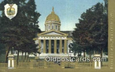 cap001764 - Montpelier, Vermont, VT State Capital, Capitals Postcard Post Card USA