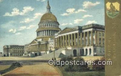 cap001765 - Washington DC State Capital, Capitals Postcard Post Card USA