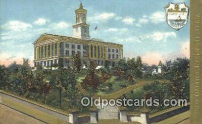 cap001776 - Nashville, Tennessee, TN State Capital, Capitals Postcard Post Card USA