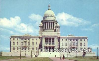 cap001778 - Providence, Rhode Island, RI State Capital, Capitals Postcard Post Card USA