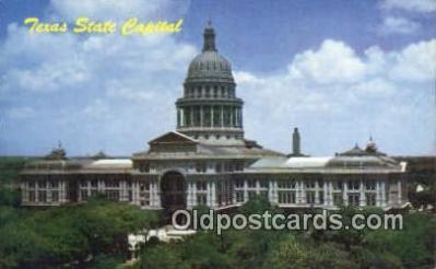 cap001782 - Austin, Texas, TX State Capital, Capitals Postcard Post Card USA