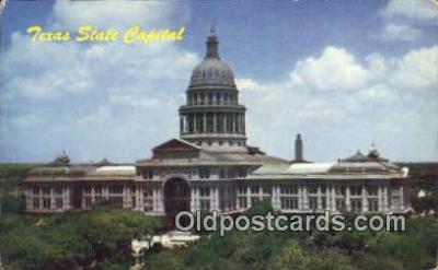 cap001784 - Austin, Texas, TX State Capital, Capitals Postcard Post Card USA