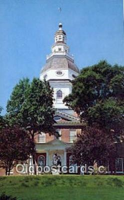 cap001788 - Annapolis, Maryland, MD State Capital, Capitals Postcard Post Card USA