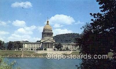 cap001789 - Charleston, West Virginia, WV State Capital, Capitals Postcard Post Card USA