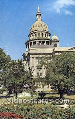 cap001796 - Austin, Texas, TX State Capital, Capitals Postcard Post Card USA