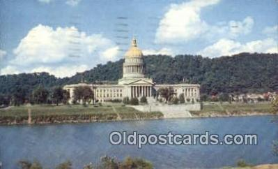 cap001797 - Charleston, West Virginia, WV State Capital, Capitals Postcard Post Card USA