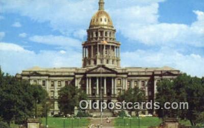 cap001799 - Denver, Colorado, CO State Capital, Capitals Postcard Post Card USA