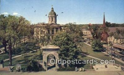 cap001801 - Montpelier, Vermont, VT State Capital, Capitals Postcard Post Card USA