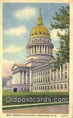 cap001809 - Charleston, West Virginia, WV State Capital, Capitals Postcard Post Card USA