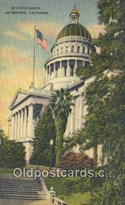 cap001810 - Sacramento, California, CA  State Capital, Capitals Postcard Post Card USA
