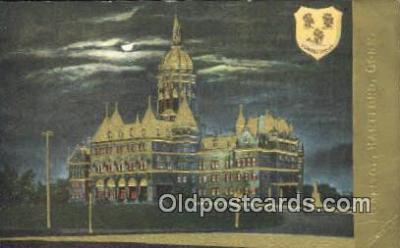 cap001811 - Hartford, Connecticut, CT State Capital, Capitals Postcard Post Card USA