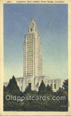 cap001819 - Baton Rouge, Louisiana, LA  State Capital, Capitals Postcard Post Card USA