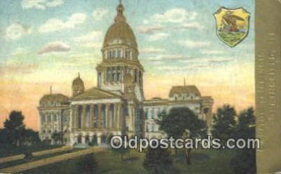 cap001822 - Springfield, Illinois, IL State Capital, Capitals Postcard Post Card USA