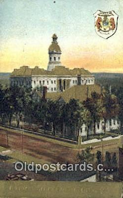 cap001828 - Jefferson City, Missouri , MO State Capital, Capitals Postcard Post Card USA