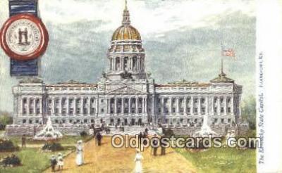 cap001840 - Frankfort, Kentucky, KY State Capital, Capitals Postcard Post Card USA