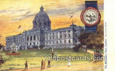 cap001852 - St Paul, Minnesota, MN  State Capital, Capitals Postcard Post Card USA
