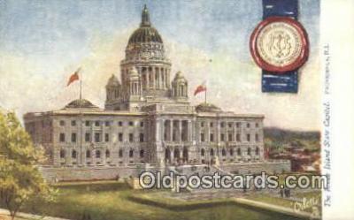 cap001858 - Providence, Rhode Island, RI State Capital, Capitals Postcard Post Card USA