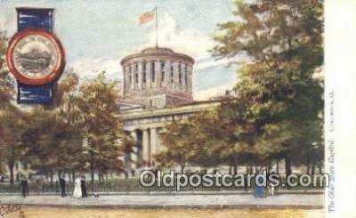 cap001860 - Columbus, Ohio, OH  State Capital, Capitals Postcard Post Card USA