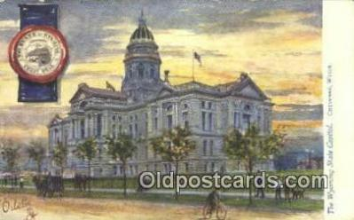 cap001872 - Cheyenne, Wyoming, WY  State Capital, Capitals Postcard Post Card USA