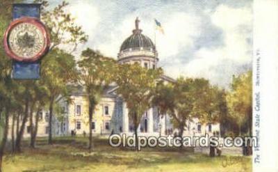 cap001873 - Montpelier, Vermont, VT State Capital, Capitals Postcard Post Card USA