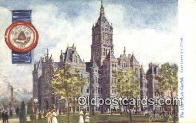 cap001874 - Salt Lake City, Utah, UT  State Capital, Capitals Postcard Post Card USA