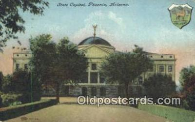 cap001879 - Phoenix, Arizona, AZ State Capital, Capitals Postcard Post Card USA