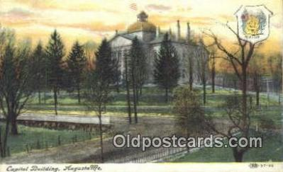 cap001887 - Augusta, Maine, ME State Capital, Capitals Postcard Post Card USA