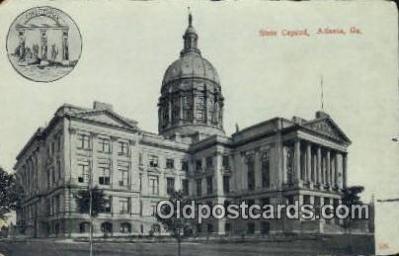 cap001896 - Atlanta, Georgia, GA State Capital, Capitals Postcard Post Card USA