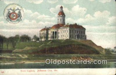 cap001899 - Jefferson City, Missouri , MO State Capital, Capitals Postcard Post Card USA