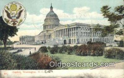 cap001903 - Washington DC State Capital, Capitals Postcard Post Card USA