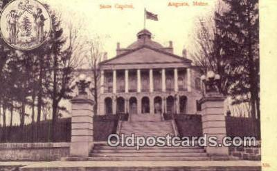 cap001905 - Augusta, Maine, ME State Capital, Capitals Postcard Post Card USA