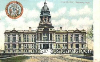 cap001908 - Cheyenne, Wyoming, WY  State Capital, Capitals Postcard Post Card USA