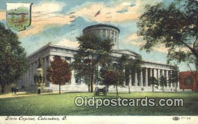 cap001910 - Columbus, Ohio, OH  State Capital, Capitals Postcard Post Card USA