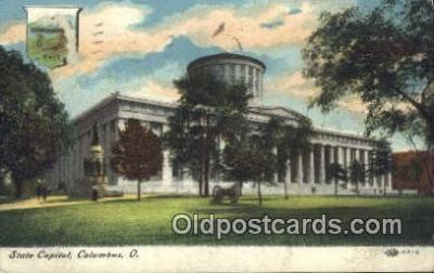 cap001911 - Columbus, Ohio, OH  State Capital, Capitals Postcard Post Card USA