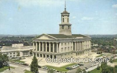 cap001914 - Nashville, Tennessee, TN State Capital, Capitals Postcard Post Card USA