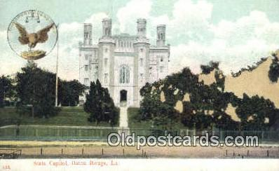 cap001920 - Baton Rouge, Louisiana, LA  State Capital, Capitals Postcard Post Card USA