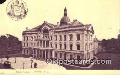 cap001921 - Trenton, New Jersey, NJ  State Capital, Capitals Postcard Post Card USA