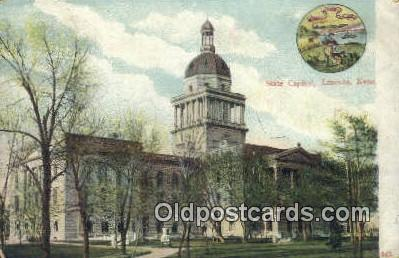 cap001926 - Lincoln, Nebraska, NE  State Capital, Capitals Postcard Post Card USA