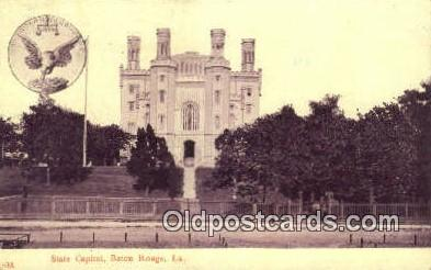 cap001933 - Baton Rouge, Louisiana, LA  State Capital, Capitals Postcard Post Card USA