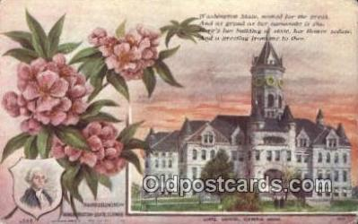cap001941 - Olympia, Washington, WA  State Capital, Capitals Postcard Post Card USA