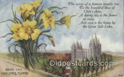 cap001944 - Salt Lake City, Utah, UT  State Capital, Capitals Postcard Post Card USA