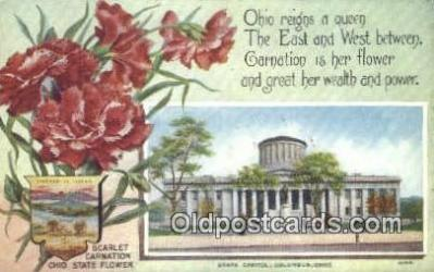 cap001950 - Columbus, Ohio, OH  State Capital, Capitals Postcard Post Card USA