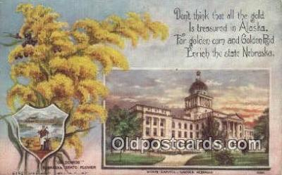 cap001953 - Lincoln, Nebraska, NE  State Capital, Capitals Postcard Post Card USA