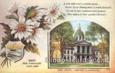 cap001954 - Concord, New Hampshire, NH State Capital, Capitals Postcard Post Card USA