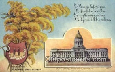 cap001963 - Frankfort, Kentucky, KY State Capital, Capitals Postcard Post Card USA