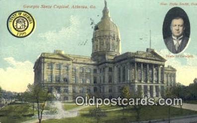 cap001970 - Atlanta, Georgia, GA State Capital, Capitals Postcard Post Card USA