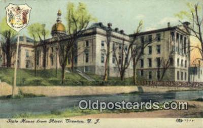 cap001971 - Trenton, New Jersey, NJ  State Capital, Capitals Postcard Post Card USA