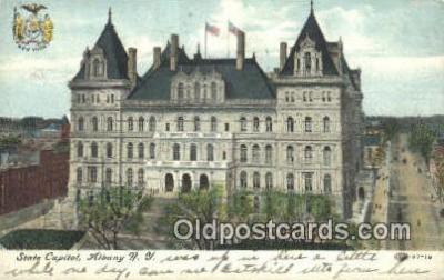 cap001974 - Albany, New York, NY  State Capital, Capitals Postcard Post Card USA